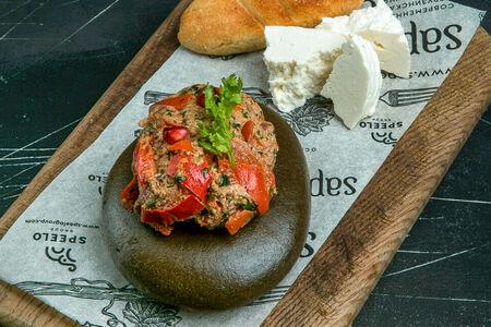 Пхали с имеретинским сыром
