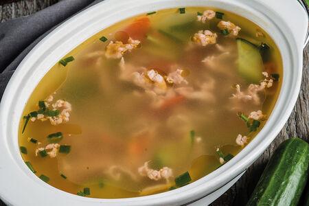 Суп из баранины с овощами