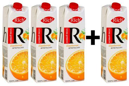 Rich Апельсин 3+1