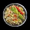Фото к позиции меню Рис коричневый с овощами