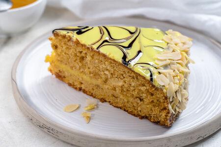 Пирог бисквитный Медовый аромат