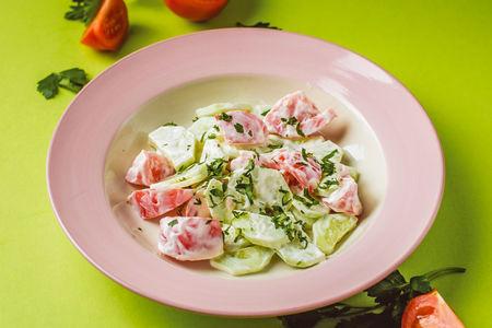 Салат овощная компания