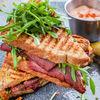Фото к позиции меню Рубен сэндвич с пастрами