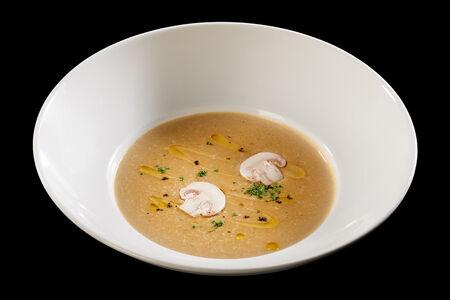 Крем-суп Грибной с чесночными сухариками