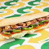 Фото к позиции меню Сэндвич Курица Терияки