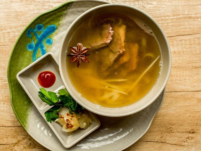 Хайнаньский острый суп с бараниной