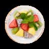 Фото к позиции меню Фруктовый микс Питахайя, клубника, киви, ананас