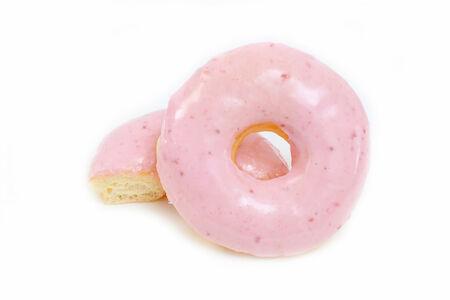 Пончик Малиновый без начинки