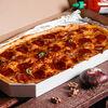 Фото к позиции меню Пицца Пепперони полуметровая