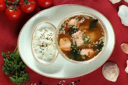 Суп сяке тадзуки
