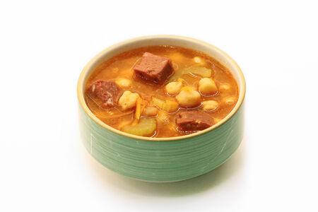 Суп Нутовый с колбасками
