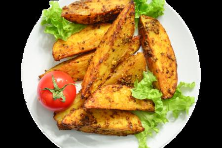 Картофель запеченный с дижонской горчицей