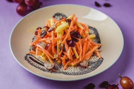 Салат Яблоко-морковь