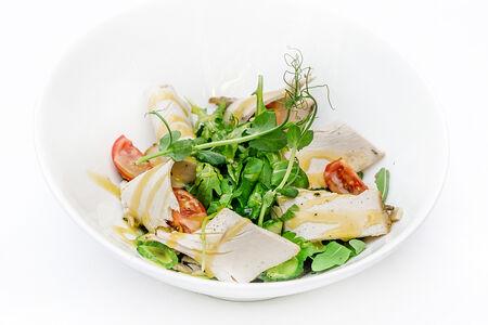 Салат с картофелем и индейкой
