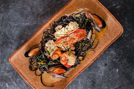 Паста Тальолини с морепродуктами