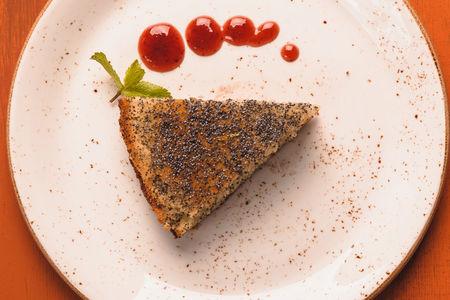 Шанхайский маково-лимонный торт
