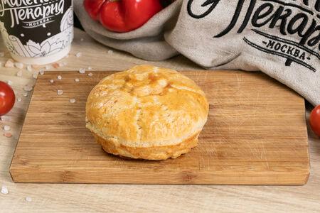 Пирог с паприкой и индейкой