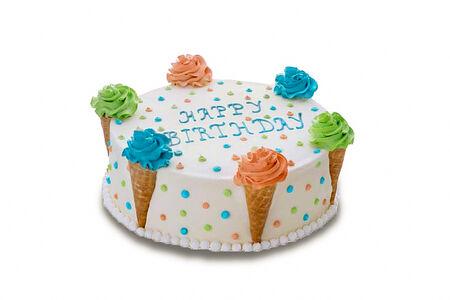 Торт-мороженое Фисташковый