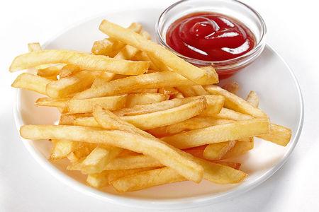 Фри с кетчупом