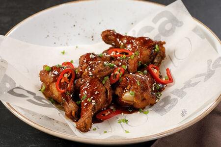 Крылья в тайском соусе
