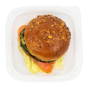 Сэндвич овощи гриль-лосось «Братья Караваевы»