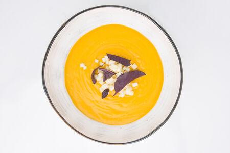 Крем-суп Морковный с карри и яблоком