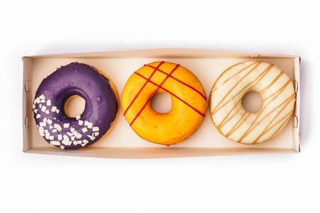 Набор из трех пончиков ассорти №3