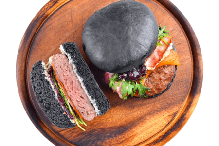 Бургер черный,