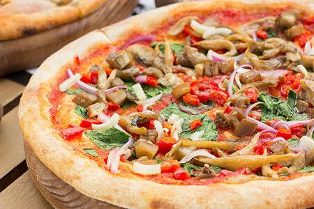 Пицца Овощная веганская