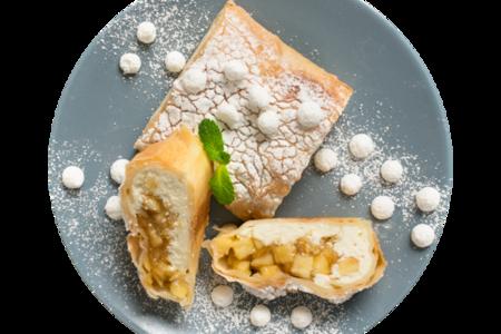 Штрудель творожно-яблочный от шеф-пекаря АВ