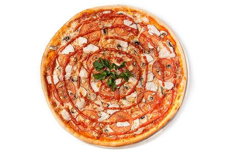 Пицца Том Ям с креветкой
