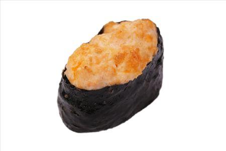Запеченная суши лосось