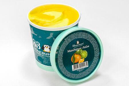 Мороженое Мандарин-лайм