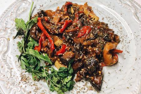 Мясо с овощами по-азиатски