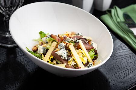 Салат Лёгкий салатный микс с горгондзолой