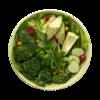 Фото к позиции меню Салат-боул Детокс с авокадо, брокколи и свежей мятой