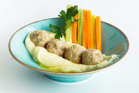 Тефтельки с овощами