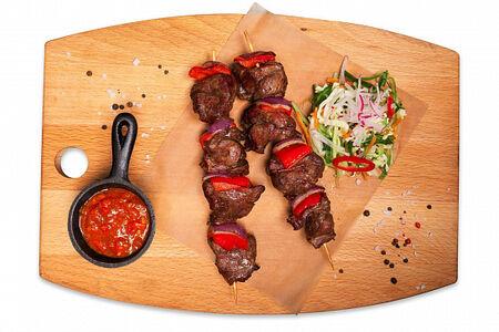 Шашлычки из вырезки говядины