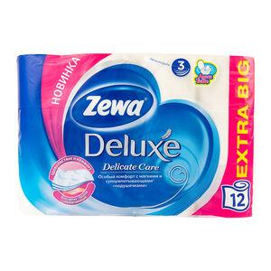 Zewa Deluxe трехслойная