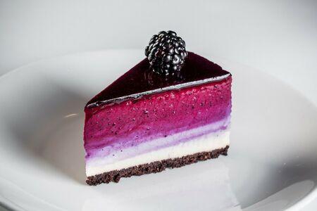 Черничный чизкейк (порция)