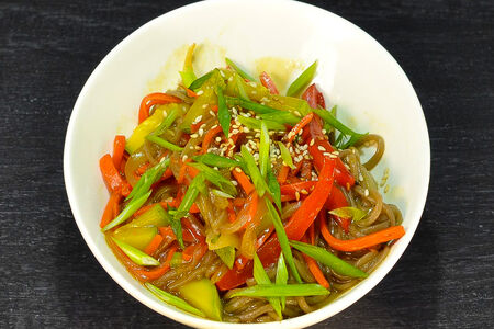 Соба с овощами