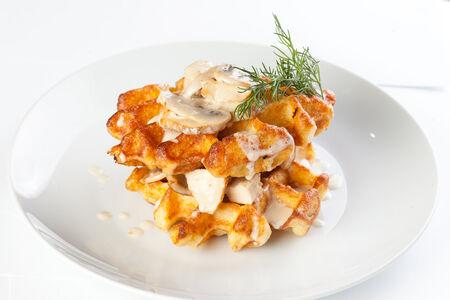 Картофельная вафля