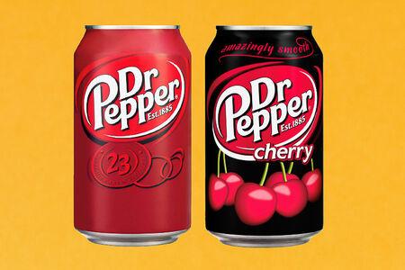 Doctor Pepper в ассортименте