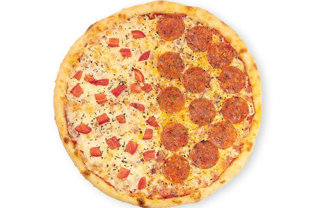 Пицца Дуэт Маргарита и Пепперони