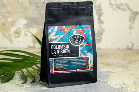 Зерновой кофе Colombia La Virgen