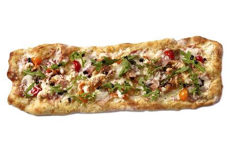 Римская пицца Руккола/креветки