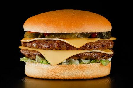 Чизбургер Дабл c курицей