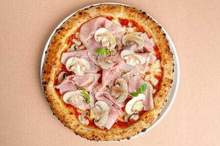Пицца Ветчина и шампиньоны