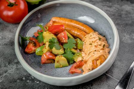 Домашние крабовые колбаски