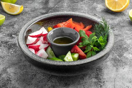 Деревенские овощи